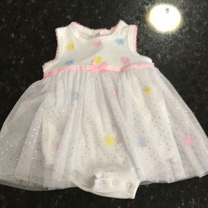 Little Me Dresses - 2 baby girl dresses size  3 months